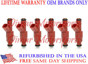 Lifetime Warranty Genuine Bosch Flow Matched Fuel Injector Set ML55 C43 E55 AMG