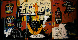 Jean-Michel-Basquiat-Print-on-Canvas-Abstract-History-Of-Black-People-24x48-034