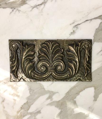 6x12 Firenze Gold Bronze Resin Decor Accent Art Craft Tile Backsplash Tile