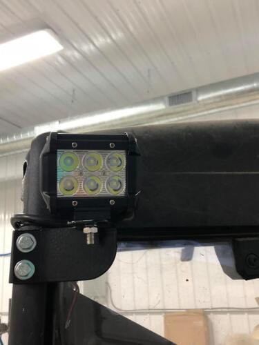 POLARIS RANGER BACKUP LIGHT SPOTLIGHT BRACKETS ONLY RANGER REAR LIGHT LED BAR