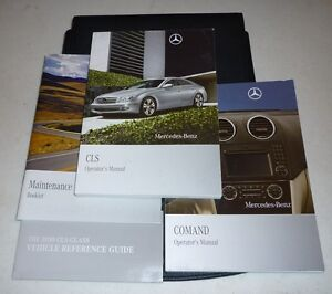 2010 mercedes cls 550 63 owners manual 10 cls550 cls63 w navi case rh ebay com Mercedes CLA 2014 mercedes cls550 owners manual