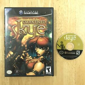 Darkened-Skye-Nintendo-Gamecube-W-Case-TESTED