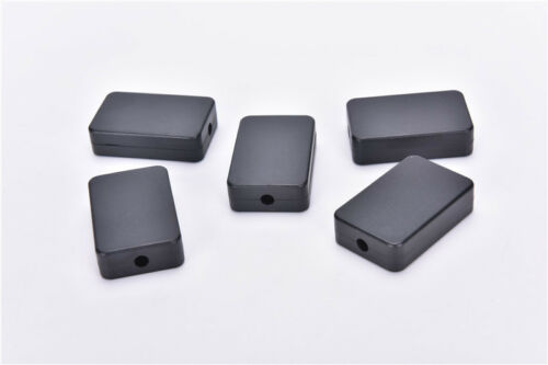 5pcs Electric Plastic Black Waterproof Case Project Junction Box 48*26*15mm bn