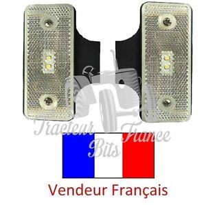 Paire De Feu De Position Led 12v / 24v 115mm X 45mm X 12mm Soulager Le Rhumatisme Et Le Froid