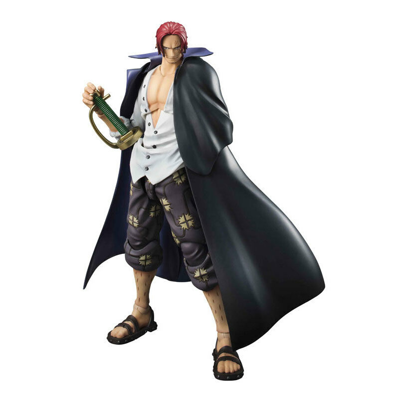 One Piece Megahouse Variable Action Figure - ROT-HaiROT Shanks (First Edition...