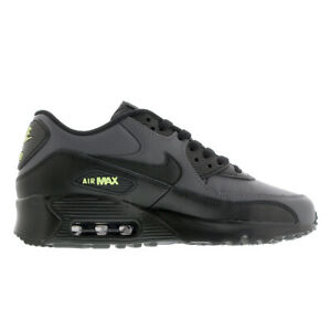 833412-032-Youth-Air-Max-90-Leather-BLACK-GREY