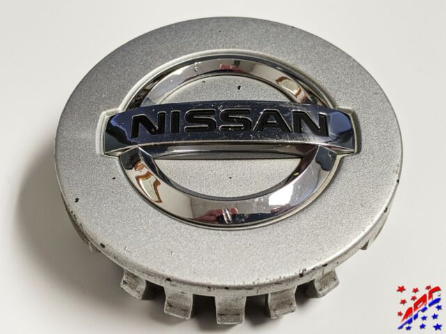 Genuine Factory OEM Nissan Wheel Center Hub Cap 40342-ZM70B Silver 2-1//8/""