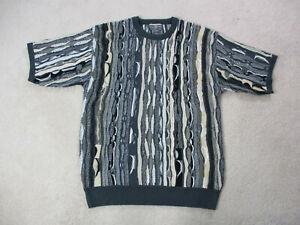 Vintage-Regal-Pullover-Erwachsene-gross-schwarz-braun-McGregor-Biggie-Bill-Cosby-Maenner-90s