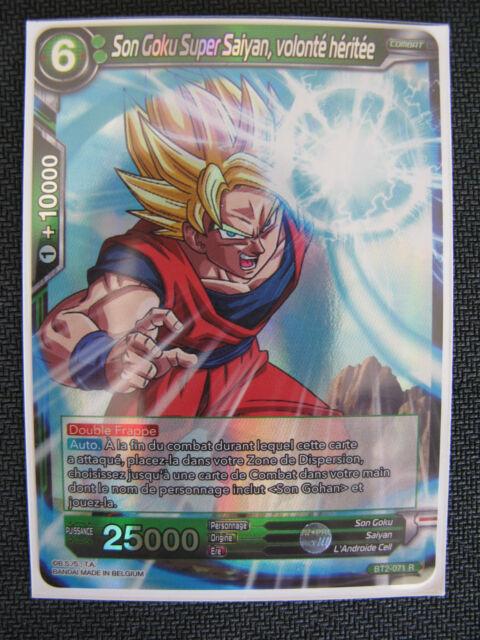 Dragon Ball Super Card Game DBS Part 2 Rare BT2-037 S - Francais Neuf 2018