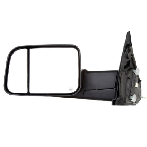 New Driver//Left Power Heated Smoke LED Signal Towing Mirror for Dodge Ram 09-12