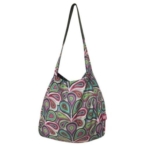 New STASH IT Love Reusable Recycled Shopping Bag Tote PERFECTLY PAISLEY gift