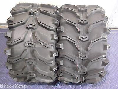 Pair of Kenda Bear Claw 22x12-8 ATV Tires 2 6ply
