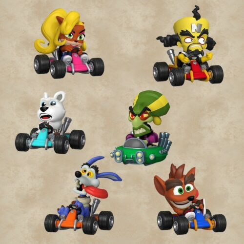 Funko MINI PERSONAGGI VINILE Blind Box Crash Team Racing