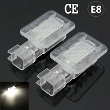 2X FOR LAMBORGHINI GALLARDO SPYDER 18 WHITE LED FOOTWELL DOOR COURTESY BOOT LAMP