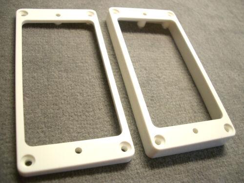 Allparts Humbucker-Rahmen Set weiss