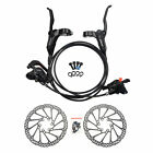 Shimano BR-BL-M315 MTB Hydraulic Disc Brakes Set Pre-Filled with 160mm G3 Rotors