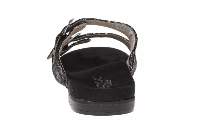 Vionic Czarina Womens Leather Double Strap Strap Strap Sandals Snake Skin NWOB Retail  110 3570ed