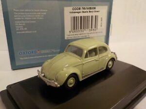 Model-Car-VW-Beetle-Green-1-76-New