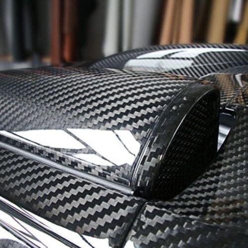 Premium 5D High Gloss Carbon Fiber Vinyl Wrap Sticker Decal Sheet Bubble Free