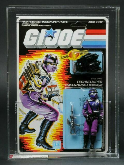 GI Joe Accessory 1987 Techno Viper             Back Pack