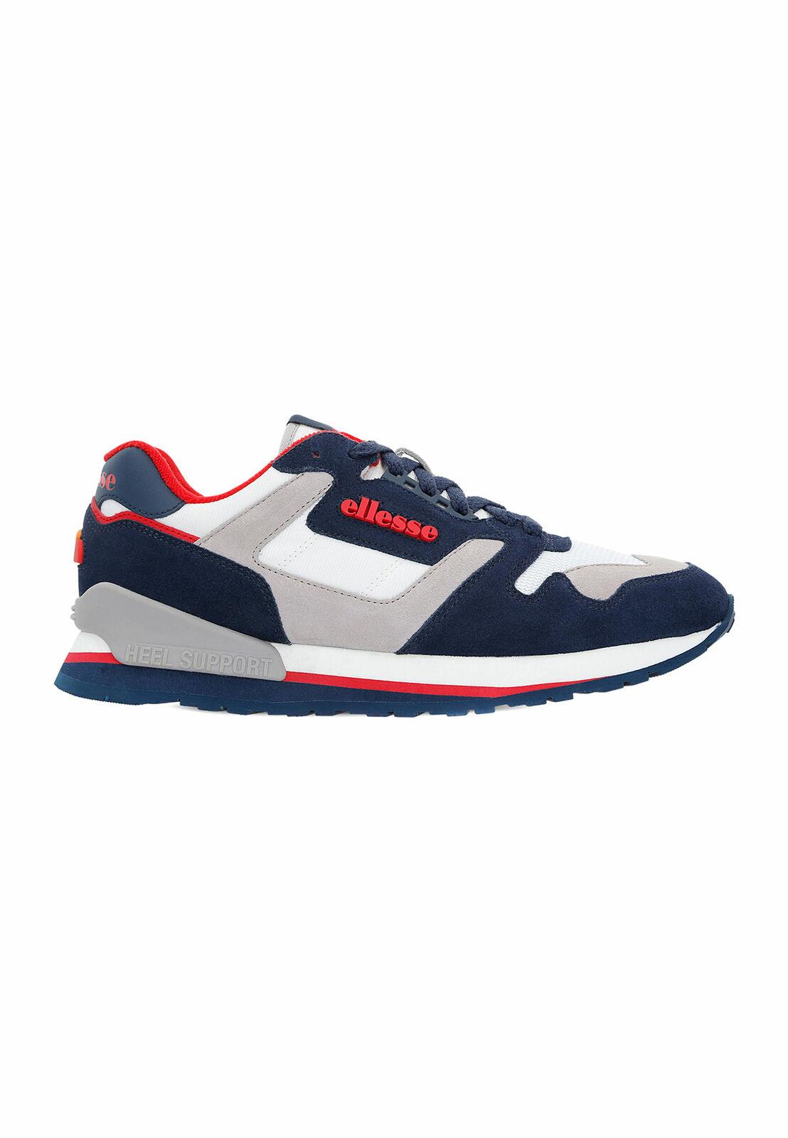 Ellesse Sneaker men 147 pelle Am 6-10332 Multicolor Dk bluee grey Wht