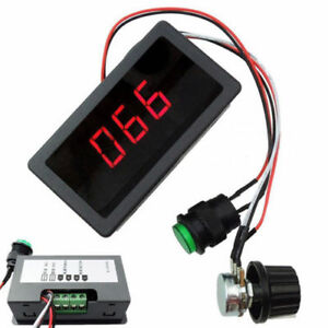 DC-6-30V-12V-24V-MAX-8A-Motor-PWM-Speed-Controller-With-Digital-Display-Switch-K