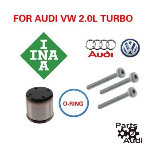 2.0t Fuel Pump Audi VW 2.0T set O-Ring /& Bolts Fuel Pump tappet Follower KIT