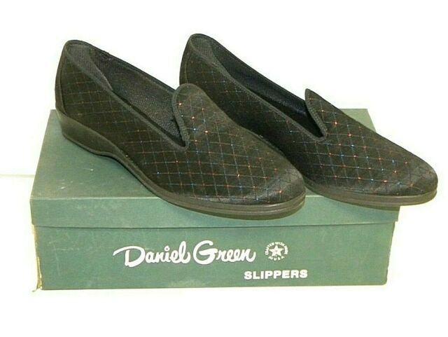 "VTG, Women's, Daniel Green, ""Felice,""  Casual Slippers, Black, Size 7.5B"