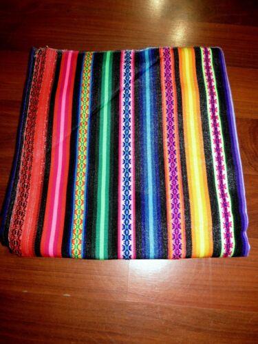 Decke Tischdecke  Wandbehang Tisch Folklore Indianer Mexico NEU Bunt 119cmx125cm