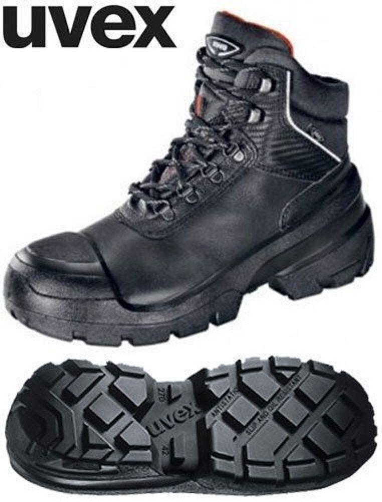 uvex 84012 Quatro Pro Black S3 Safety
