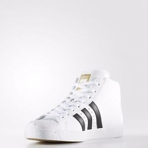 new concept 4d2d5 aa28e Image is loading BY4095-MEN-039-S-ADIDAS-ORIGINALS-PRO-MODEL-