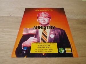 Ministry-Filth-Pig-Original-Vintage-French-Press-Publicidad