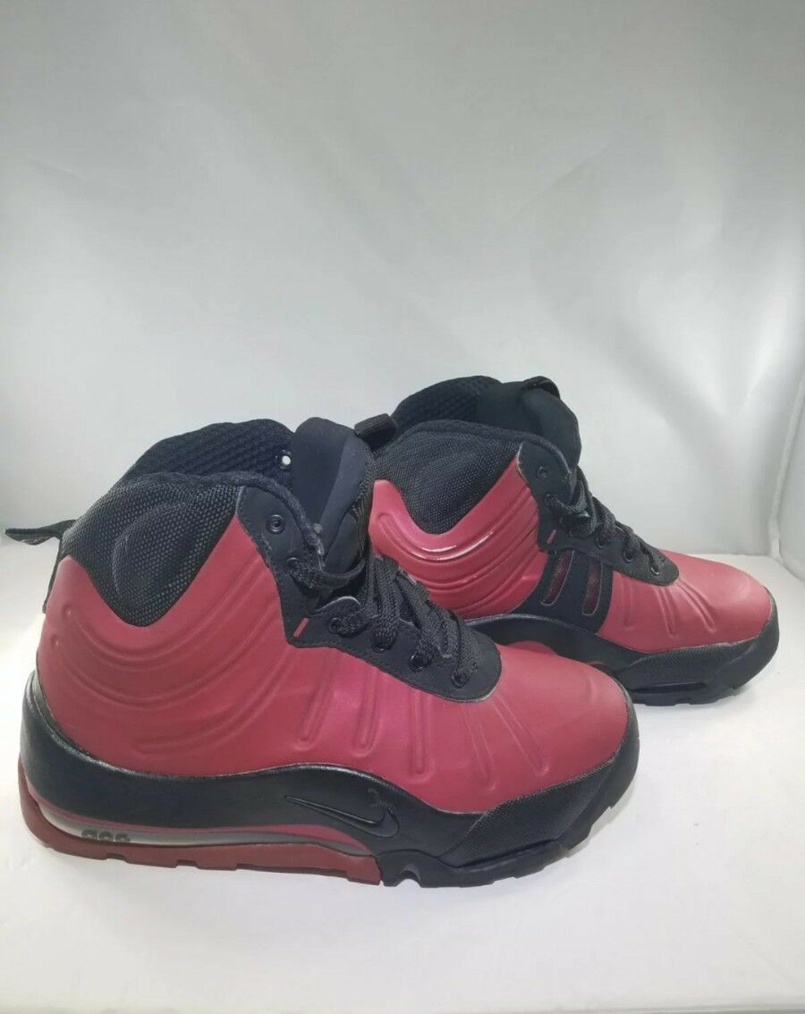 Nike Air Max Baking Boots ACG GS Red Size 5Y