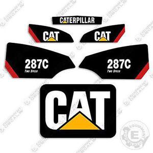 Caterpillar 287C 2 Speed Kit de Pegatinas