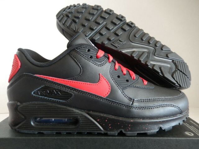new arrival 55827 64587 Nike Air Max 90 ID All Black Sz 10.5 Womens/mens Sz 9 931896-994