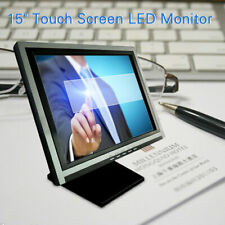 15 Inch Touch Screen Monitor Lcd Pos Retail Kiosk Restaurant Touchscreen Usa