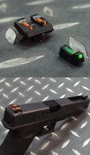 APE (Airsoft) - mire metal avec fibre pour Glock WE et Marui