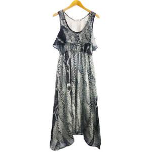 NEW KATIE HOSKING DESIGNER BLACK  MAXI DRESS SIZE XS,S,M,L,XL RRP $199.00