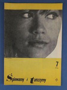 FRANCOISE HARDY mag.FRONT cover 1966 The Hollies,Nancy Sinatra,Joan Baez,E.Piaf - europe, Polska - Zwroty są przyjmowane - europe, Polska