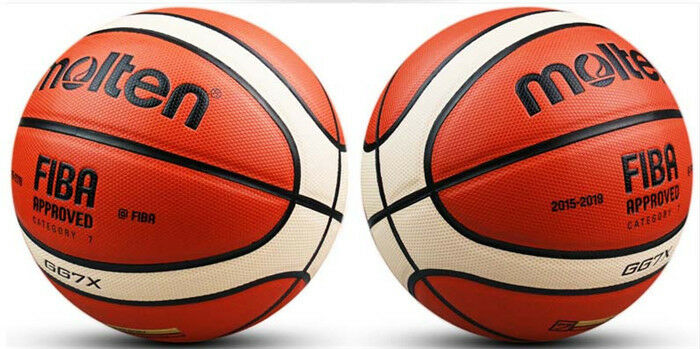 2pcs In Outdoor Molten GG7X 7  Men's Basketball Training High Quality PU