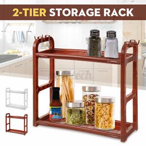 2-tier-Storage-Holder-Rack-Kitchen-Bathroom-Spice-Jar-Bottle-Shelf-Organiser