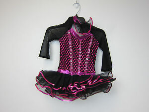 Weissman 9978 I/'m Talking To You Mock Neck Dance Costume Pink NEW