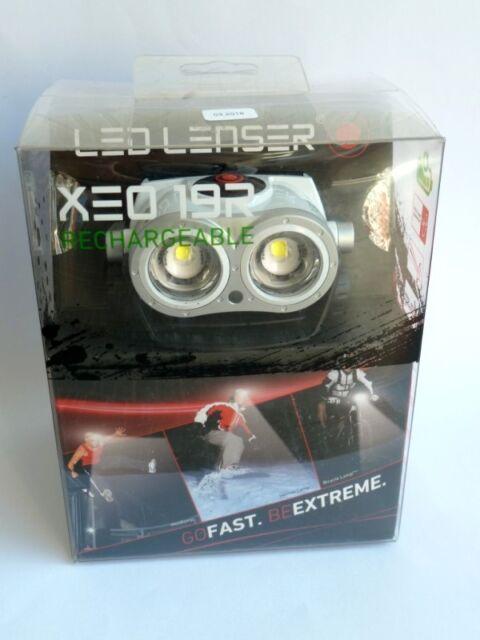LED LENSER XEO 19R weiß 7319-RW  Zweibrüder 2000 Lumen Kopflampe Stirnlampe
