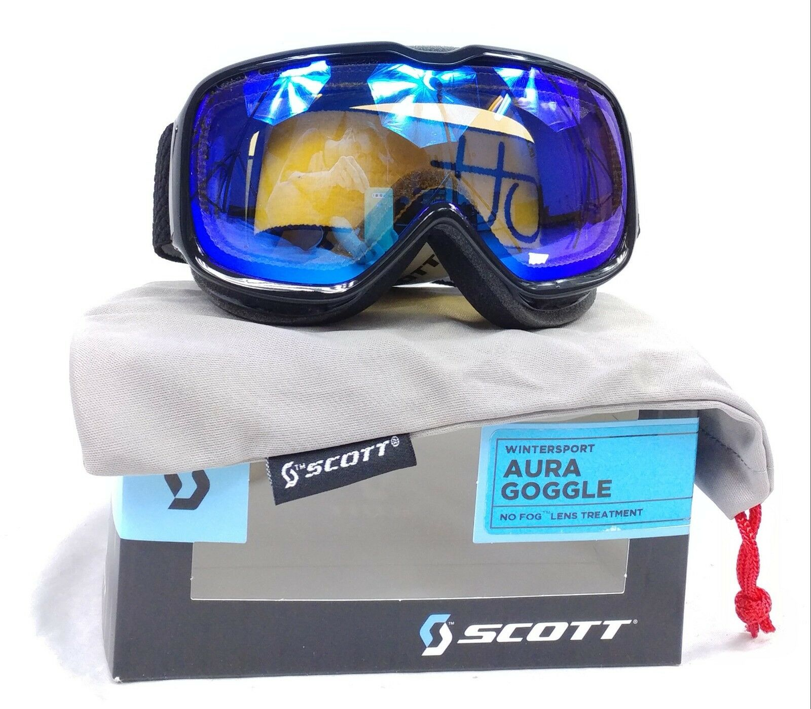 SKI GOGGLES, SNOWBOARD GOGGLES, Scott Aura Women's Ski Snowboard Goggle, BUBBLE