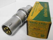 Russell Amp Stoll 8428 Twist Lock Plug 100a 480vac 250vacdc