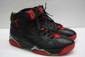 best website 22141 90f78 Image is loading Air-Jordan-VII-7-Retro-Black-Red-Green-