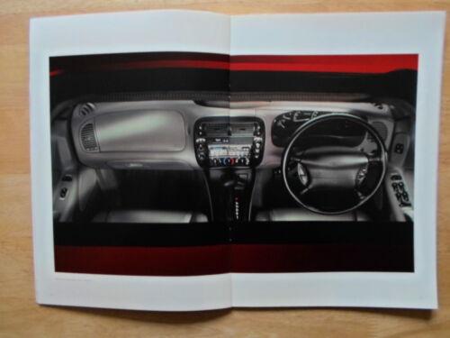 4.0 V6 4x4 FORD EXPLORER orig 1997 1998 UK Mkt Prestige Sales Brochure