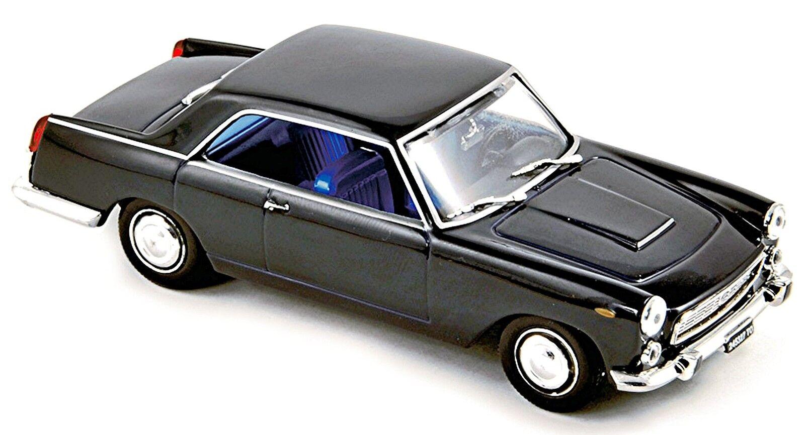 Lancia Floride II Coupé Pinifarina 1957 bleu foncé bleu sombre 1 43 Norev