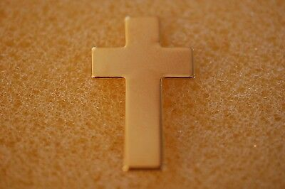 US USA Chaplain Cross Military Hat Lapel Pin