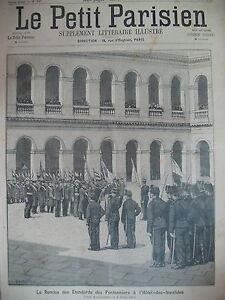 LES-INVALIDES-ETENDARDS-DES-PONTONNIERS-ALPES-ACCIDENT-LE-PETIT-PARISIEN-1894